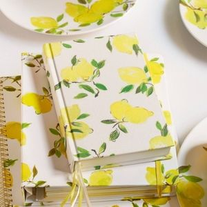 NWOT Kate Spade Journal Lemon 🍋